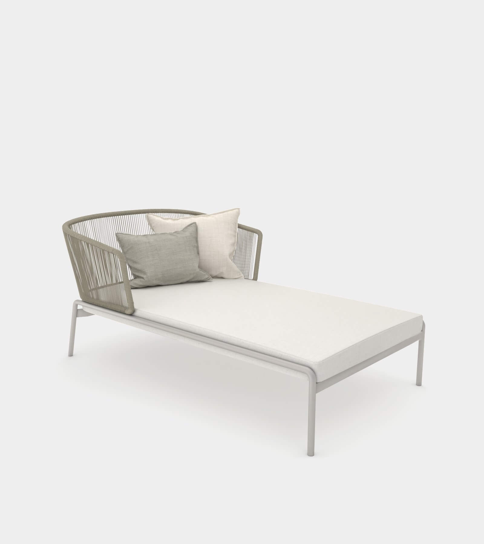 - Outdoor Pool Chaise Lounge - 3D Model